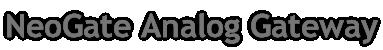 NeoGate Analog Gateway